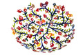 Emanuel Large Laser Cut Bowl Birds & Pomegranates (EM-BOP1)