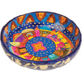 Paper Mache Bowl Jerusalem Colored ROUND MEDIUM (EM-PM-2C)