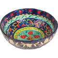 Paper Mache Bowl Pomegranate Colored ROUND LARGE (EM-PM-3A)