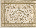 Embroidered Tefillin Bag Paper cut GOLD (EM-TFC-17G)