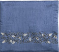 Blue Tallit Bag Pomegranates BLACK (EM-TBL-6D)