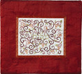 Embroidered Tallit Bag Maroon (EM-TMD-5)