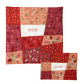 Embroidered Matzah Cover -Red (EM-MMA2)