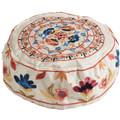 Embroidered Kippah WHITE (EM-HME-3W)