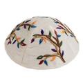 Embroidered Kippah MULTI COLOR (EM-YME-7M)