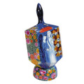 Emanuel Painted Extra Large Dreidel With Stand (EM-DXL-4)