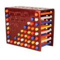 Aluminum Cast Menorah Red (EM-HMM-1M)