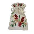 Embroidered Spice Bag Pomegranates (EM-BBE-3)