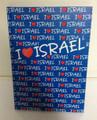 "I Love Israel Notebook Blue 6"" x 8"" (36456-1)"