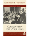 Confrontation And Other Essays by Rabbi Joseph B. Soloveitchik (BKE-CAOE)