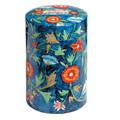 Yair Emanuel Round Tzedakah (Charity) Box -Flowers TZR-5