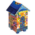Yair Emanuel House design Tzedakah (Charity) Box - Jerusalem TZH-1