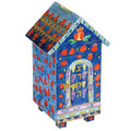 Yair Emanuel House design Tzedakah (Charity) Box -Pomegranates TZH-2
