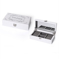 Eishet Chayil White Wood Jewelry Box (MC-X1501WZ)