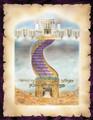 Extra Large Vinyl Poster Designed by Rabbi Yonah Weinreb-- Olam Habah(PKL102)