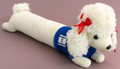 Long Poodle with Israeli Flag on Blue Sweater (46296)
