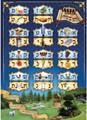 "Laminated Poster 20"" x 28""-- Alef Bet (P830)"