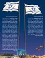 """Laminated Poster 20"""" x 28""""-- Israel (P648)"""