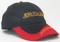 Black and Red Cap - Jerusalem (I-IC#22)