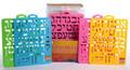 """Alef Bet Stencil 8""""x10.5"""" (2"""") (MC-D501136)"""