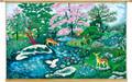 "Canvas Poster 20"" x 28"" -- כאייל תערוג על אפיקי מים (PC2)"