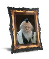 """Gedolim Portrait on Wood with 2 Ways to Display 9"""" x 12"""" - רב אלישיב (RP2 SPECIAL)"""