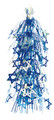 """Blue and Silver Magen David Lantern - Pack of 12 - 28"""" (71167)"""