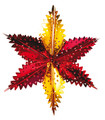 """6 Section Star - Pack of 12 - 13"""" (71192)"""