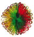 """8 Section Multi Colored Ball - Pack of 12 - 18"""" (71237)"""