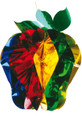 """Large Multi Colored Apple - Pack of 12 - 20"""" (71234)"""