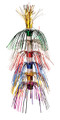 """Multi Colored String Lantern - Pack of 12 - 16"""" (71149)"""