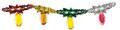 """9"""" 8 Section Arbah Minim Garland - Pack of 12 (71195)"""
