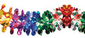 """8"""" 24 Section Multi Colored Garland - Pack of 12 (71188)"""