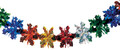 """6"""" 24 Section Multi Colored Garland - Pack of 12 (71128)"""
