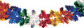 """6"""" 36 Section Multi Colored Garland - Pack of 12 (71129)"""