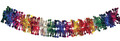"""6"""" 36 Section Multi Colored Garland - Pack of 12 (71130)"""