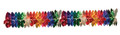 """6"""" 36 Section Multi Colored Garland - Pack of 12 (71131)"""