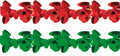 """6"""" 10 Section Apple Garland - Pack of 12 (71214)"""