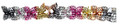 """6"""" 35 Section Multi Colored Garland - Pack of 12 - (71248)"""
