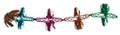 """9"""" 12 Section Multi Colored Garland - Pack of 12 (71251)"""