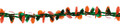 """6"""" 12' Long Garland with Oranges - Pack of 12 (71228)"""