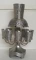 Pewter  Wine Fountain 8 cups Jerusalem SHB-5050-P