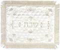 Challah Cover Satin / White Diamond (111921)