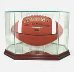Football Octagon Display Case