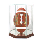 Football Upright Display Case