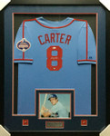 Gary Carter Montreal Expos Signed Framed Jersey