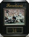 Walter Payton 'Sweetness' Signed Bears Framed 16x20