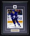Auston Matthews Autographed Toronto Maple Leafs 8x10 framed