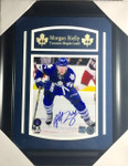 Morgan Rielly Autographed Toronto Maple Leafs 8x10 framed