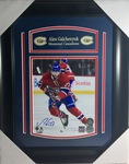 Alex Galchenyuk Signed 8x10 Montreal Canadiens